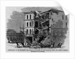 Earthquake in San Francisco, Cal., October 8, 1865-View on the Corner of Third and Mission Streets by Corbis