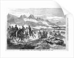 The Battle of Buena Vista, Mexico - Generals Taylor and Santa Anna by Corbis