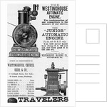An advertisement for the Westinghouse Automatic Engine by Corbis