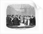 A Group of Shakers at Prayer by Corbis