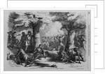 Battle of Oriskany, State of New York Illustration by Corbis