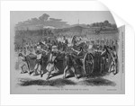Military Execution by the English in India by Corbis