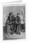 Love making in Puritan times by Corbis