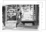 Cigar Store Indian Outside Shops by Corbis