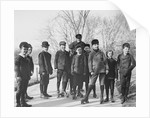 Portrait of Boys in Central Park by Corbis