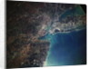Orbital View of New York City and Long Island by Corbis