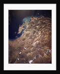 Zagros Mountains From Space by Corbis