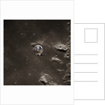 Command Module Above the Moon by Corbis