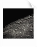 Craters on the Limb of the Moon by Corbis