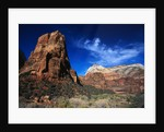 Mesas of Zion National Park by Corbis