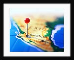 Guadalajara Marked on Map by Corbis