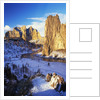 Smith Rock in Winter by Corbis