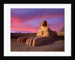 Twilight at Sphinx by Corbis