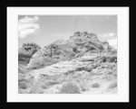 Hill of Sedimentary Rock by Corbis