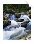 Stream Cascading over Boulders by Corbis