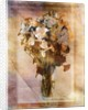 White Flowers in a Vase by Corbis