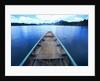 Long-tailed Boat on Chiaw-Lan Lake by Corbis