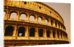 Colosseum in Italy by Corbis