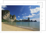 Beach in Krabi, Thailand by Corbis