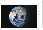 Earth from Space with Eastern Hemisphere by Corbis
