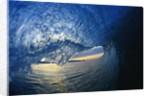 Inside Breaking Ocean Wave by Corbis