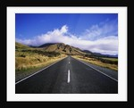Vacant Highway in Mount Cook National Park by Corbis