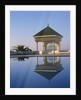 Pavilion and Pool by Corbis