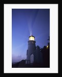 Lighthouse at Twilight by Corbis