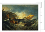 Shipwreck of the Minotaur by William Turner
