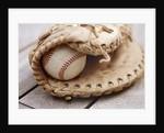 Baseball and Glove by Corbis