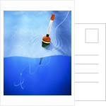 Floater and Hook in Water by Corbis