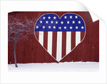 Heart-Shaped Stars and Stripes by Corbis