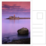 East Pier Lighthouse at Twilight by Corbis