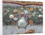 Detail of Fruits and Decorative Border from the Loggia of Cupid and Psyche by Raphael and His Workshop