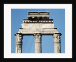 Ruins of the Temple of Castor and Pollux by Corbis