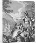 Julius Caesar Commanding Forces by Corbis