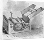 Lithograph of Cotton Gin by Corbis
