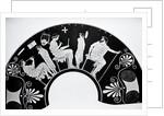 Grecian School Scene On Vase/Illustratio by Corbis