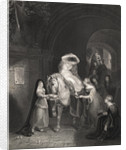 Servants Helping Lady Godiva Disrobe by Corbis