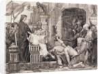Louis IX Freeing Prisoners by Corbis
