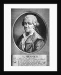 Portrait Of Friedrich A. Mesmer by Corbis