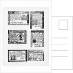 Six Variations of American Money by Corbis
