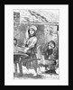 Engraving of Children Working in a Factory by Corbis