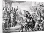 Charles I Errecting his Standard by Corbis