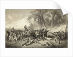 Engraving of the Fall of General Braddock by Corbis