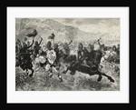 Attila Leading His Horde by Corbis