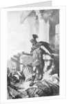 Gaius Marius Among Ruins of Carthage by Corbis