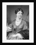 Illustration of British Writer Harriet Martineau by Corbis
