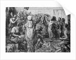 Quintus Fabius Declaring War to Carthegian Senate by Corbis