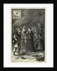 Illustration of Clara Barton Entering Strasburg with German Army by Corbis